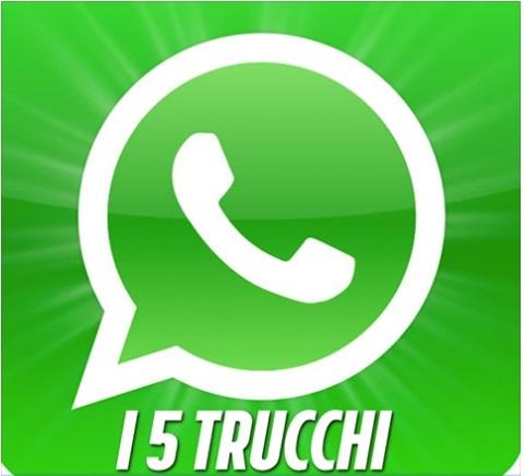 Che i contatti sono elencati in whatsapp
