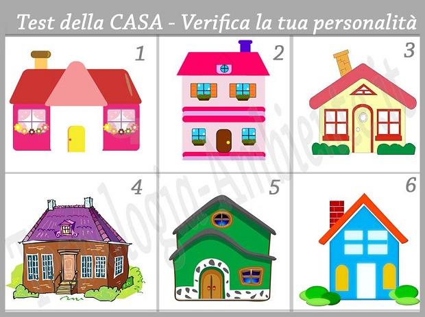 Test psicologico scegli la casa che attira la tua attenzione for Disegno della casa