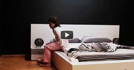 Il letto intelligente che si rifa 39 da solo video - Letto che si chiude ...