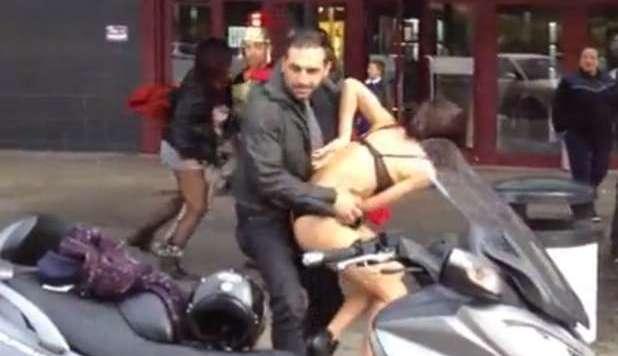 viedeo erotici rissa roma