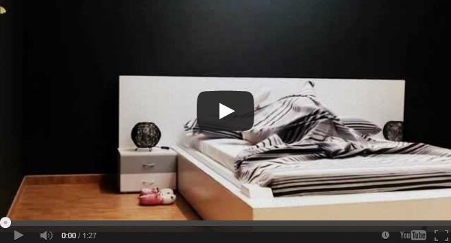 Il letto che si rifa 39 da solo il video impazza sul web - Letto che si chiude ...