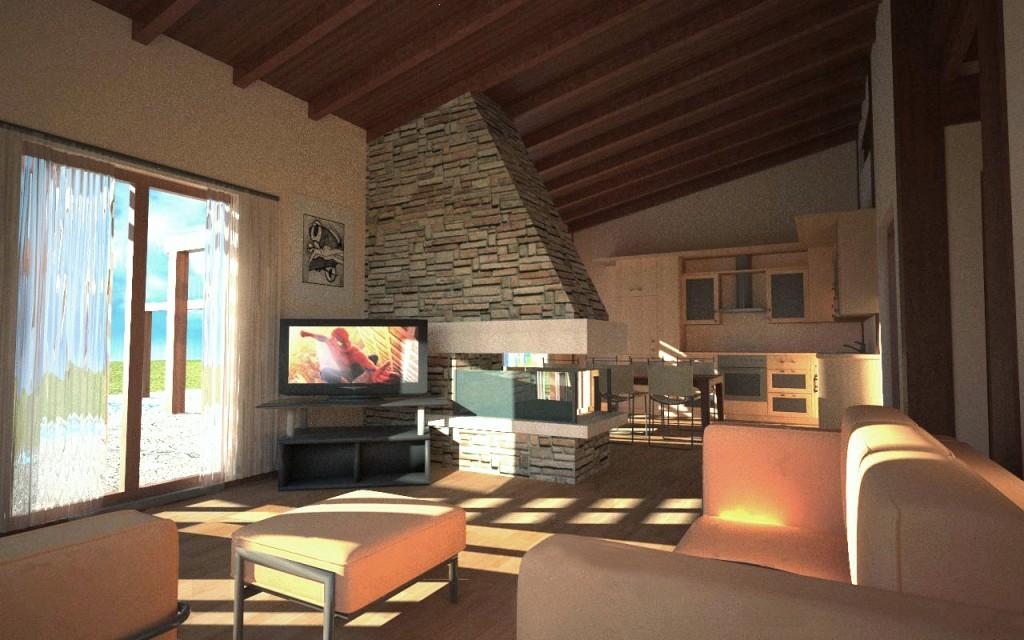 Casa a 180 euro ecco l 39 abitazione economica ma con tutti for Abitazioni interni