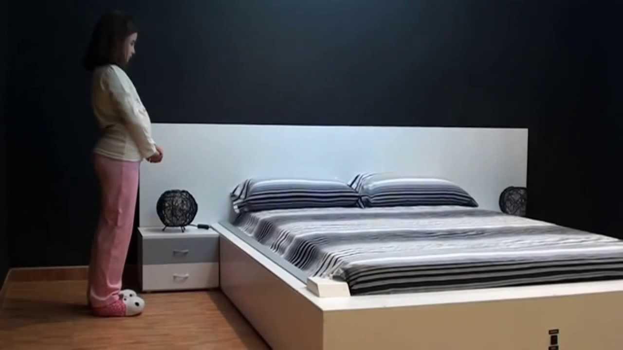 Il letto che si rifa 39 da solo video - Letto che si chiude ...