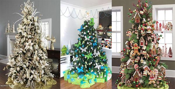 Rivestire la base dell 39 albero di natale le 20 idee - Idee x decorare l albero di natale ...