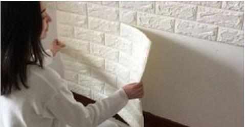 Ecco come abbellire le pareti di casa con le tavole adesive 3d la numero 5 vi lascera 39 a bocca - Tavole adesive per pareti 3d ...