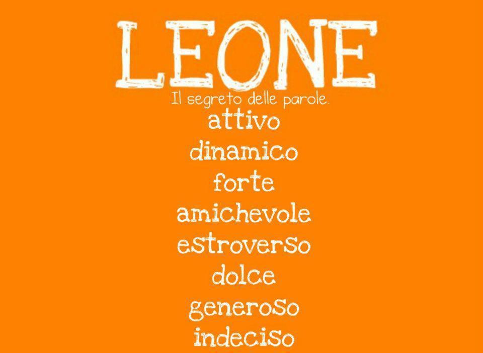 Aggettivi pè ogni segno zodiacale: LEONE - 13/09/2012