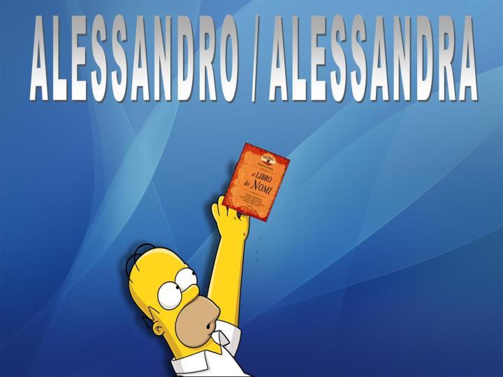 Alessandro Alessandra