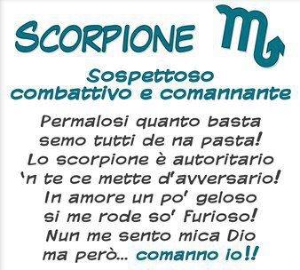 Oroscopo romano scorpione - Scorpione e gemelli a letto ...