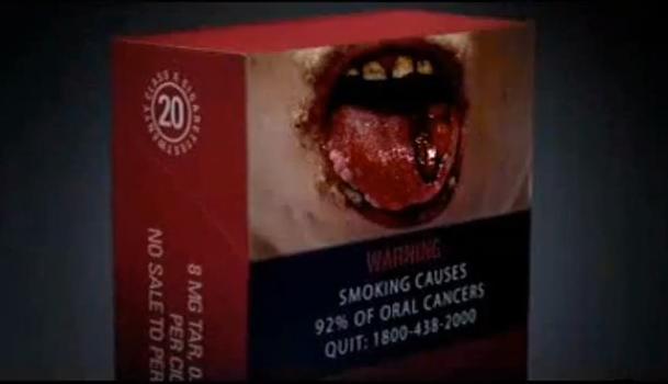 Alyona di un segno di omissione come smettere di fumare