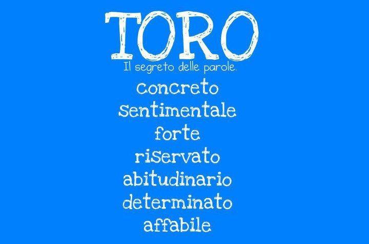 Aggettivi pè ogni segno zodiacale: TORO - 13/09/2012