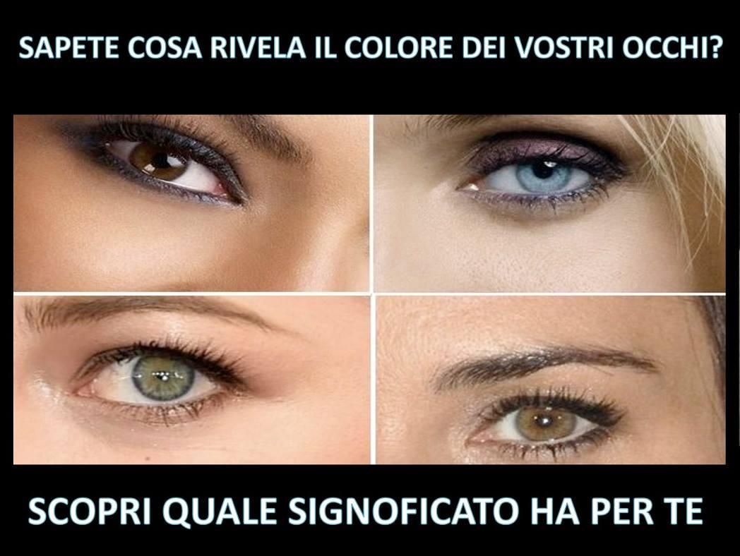 Sapete cosa rivela il colore dei vostri occhi scopri - Occhi colori diversi ...